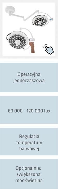 Lampy zabiegowe i operacyjne