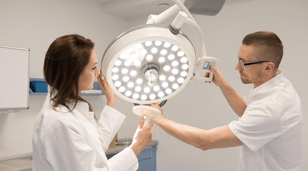 Szpitalne Lampy operacyjne